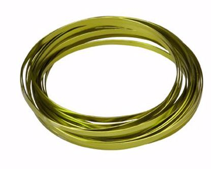 """Picture of Oasis 3/16"""" Wide Flat Wire - Apple Green"""