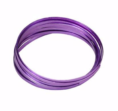 "Picture of Oasis 3/16"" Wide Flat Wire - Purple"