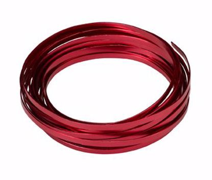 "Picture of Oasis 3/16"" Wide Flat Wire - Red"