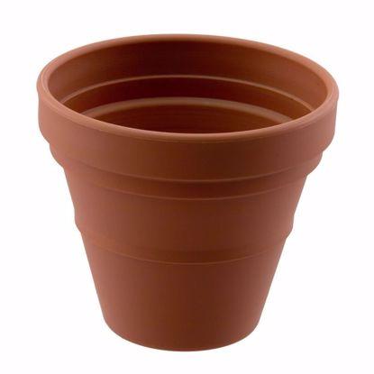 "Picture of Diamond Line 6"" Garden Pot - Clay"