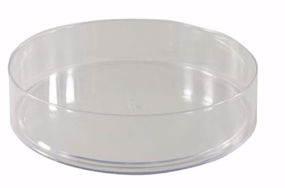 """Picture of Diamond Line 6"""" Round Tray - Clear"""