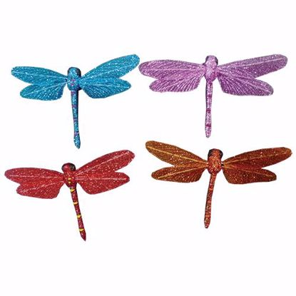 """Picture of 7"""" Dragonfly Picks (4 Assorted)"""