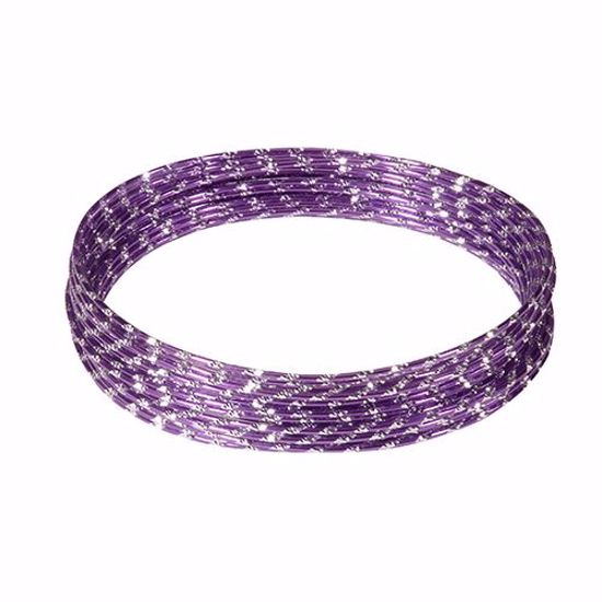 Picture of Oasis 12 Gauge Diamond Wire-Purple