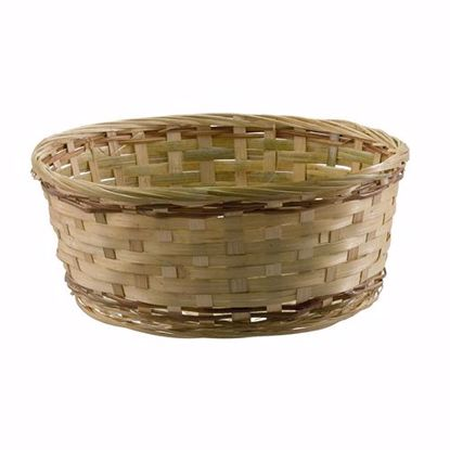 """Picture of 12"""" Bamboo Basket Assortment-Natural Weave"""