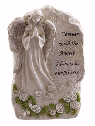 Picture of Forever With The Angels Memorial Stone