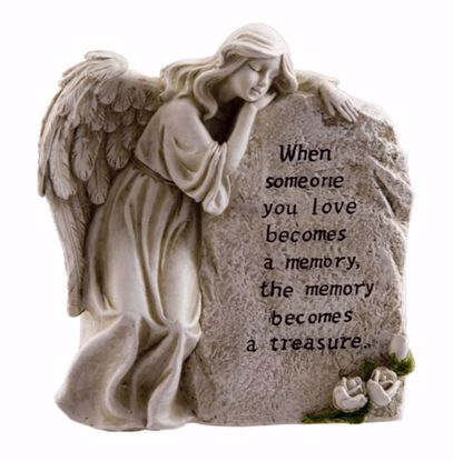 Picture of Memory Becomes A Treasure Memorial Stone