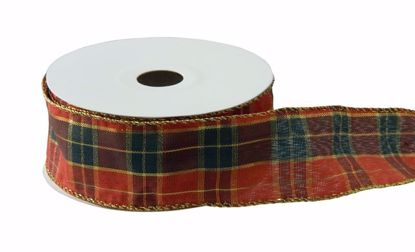 Picture of #40 Holiday Ribbon - Large Plaid
