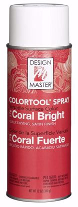 Picture of Design Master Colortool Spray/ Coral Bright