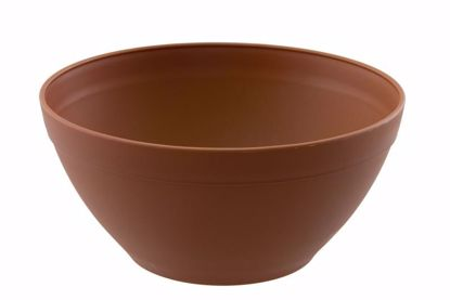 "Picture of Diamond Line 10"" Garden Bowl - Clay"