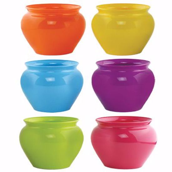 """Picture of Syndicate Sales 6.5"""" Jardiniere - Popsicle Assortment"""