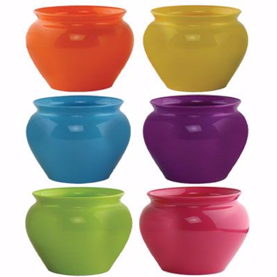 "Picture of Syndicate Sales 4.5"" Jardiniere - Popsicle Assortment"