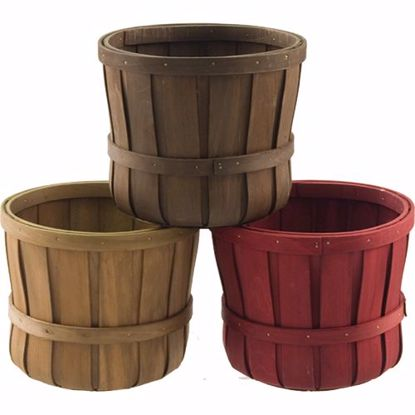 """Picture of 6"""" Chipwood Pot Cover - 3 Assorted"""