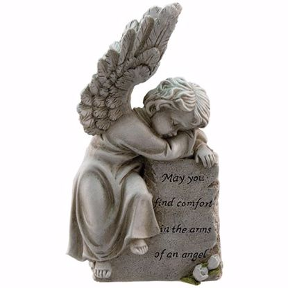 Picture of Comfort In The Arms Of An Angel Memorial Stone