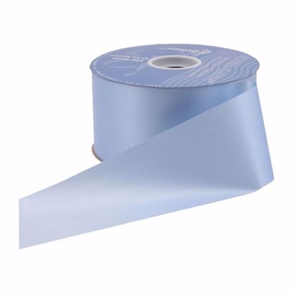 Picture of #9 Waterproof Poly Flora-Satin Ribbon - Blue