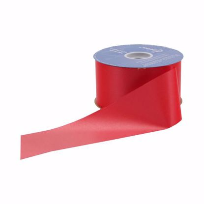 Picture of #9 Waterproof Poly Flora-Satin Ribbon - Red