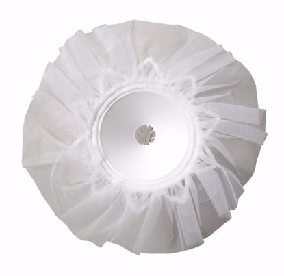"Picture of OASIS Lomey Tulle Bouquet Collars - 8"" Plain-Edge Tulle"