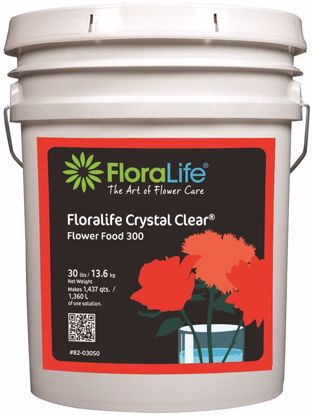 Picture of Floralife Crystal Clear Flower Food 300 Powder - 30 lb. Pail
