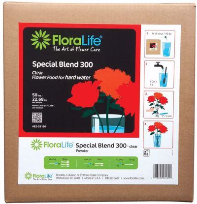 Picture of Floralife Crystal Clear Flower Food 300 Powder - 50 lb. Box