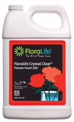 Picture of Floralife Crystal Clear Flower Food 300 Liquid - 1 Gallon Jug