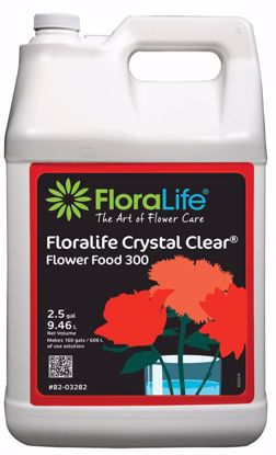 Picture of Floralife Crystal Clear Flower Food 300 Liquid - 2.5 Gallon Jug w/Pump