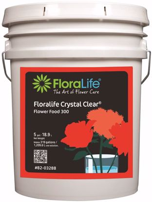 Picture of Floralife Crystal Clear Flower Food 300 Liquid - 5 Gallon Pail