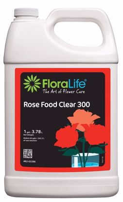 Picture of Floralife Rose Food Clear 300 Liquid - 1 Gallon Jug
