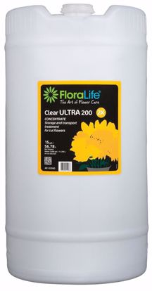 Picture of Floralife Clear ULTRA 200 Storage & Transport Liquid Treatment - 15 Gallon Drum