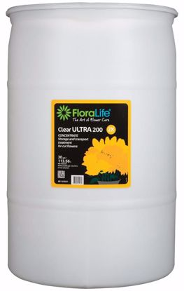 Picture of Floralife Clear ULTRA 200 Storage & Transport Liquid Treatment - 30 Gallon Drum