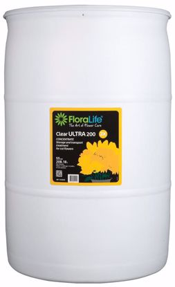 Picture of Floralife Clear ULTRA 200 Storage & Transport Liquid Treatment - 55 Gallon Drum
