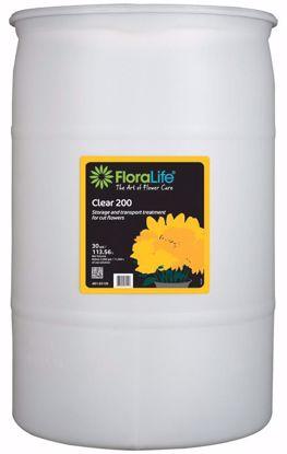 Picture of Floralife Clear 200 Storage & Transport Liquid Treatment - 30 Gallon Drum