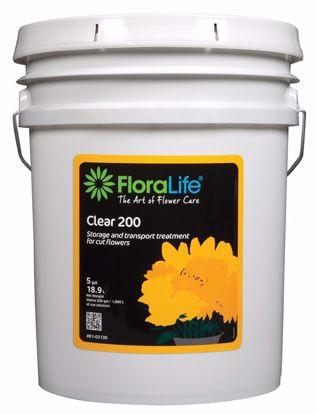 Picture of Floralife Clear 200 Storage & Transport Liquid Treatment - 5 Gallon Pail