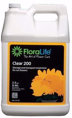 Picture of Floralife Clear 200 Storage & Transport Liquid Treatment - 2.5 Gallon Jug w/Pump