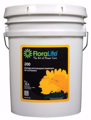 Picture of Floralife 200 Storage & Transport Liquid Treatment - 5 Gallon Pail