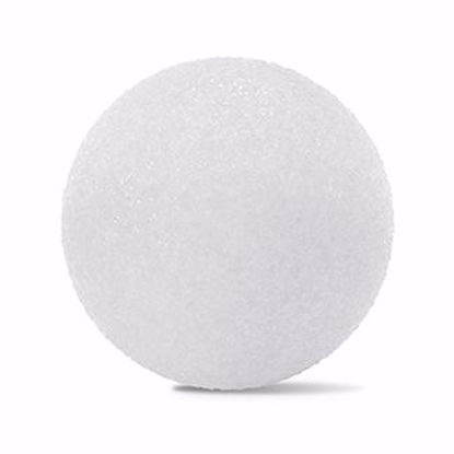 "Picture of Oasis White Styrofoam Ball - 2"""