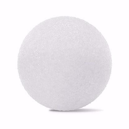 "Picture of Oasis White Styrofoam Ball - 3"""