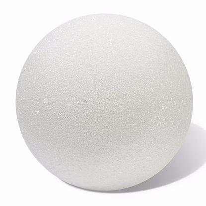 "Picture of White Styrofoam™ Ball - 8"""