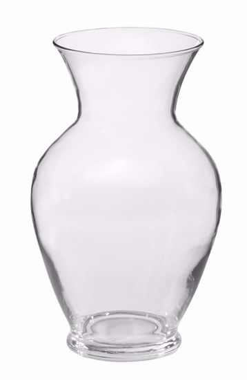 """Picture of Oasis 11"""" Bouquet Vase - Clear Glass"""