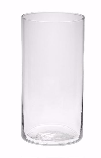 """Picture of Oasis 8"""" Grand Cylinder - Clear Glass"""