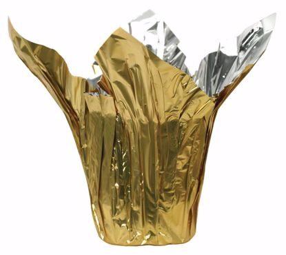 """Picture of 6"""" Kwik-Cover® Metallic Gold/Silver"""