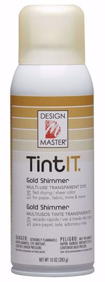 Picture of Design Master TintIt Dye/ Gold Shimmer