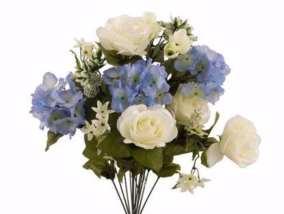 "Picture of 21"" Rose Hydrangea Mix Bush x 14"
