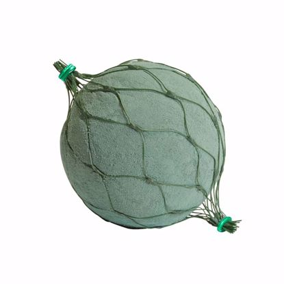 """Picture of Oasis Floral Foam Netted Spheres - 3.5"""" Netted Sphere"""