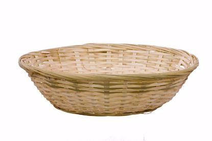 "Picture of 13"" Round Bamboo Basket"