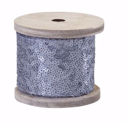 Picture of Oasis Sequin Wrap - Steel Matte