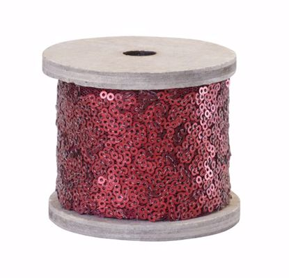 Picture of Oasis Sequin Wrap - Red Matte