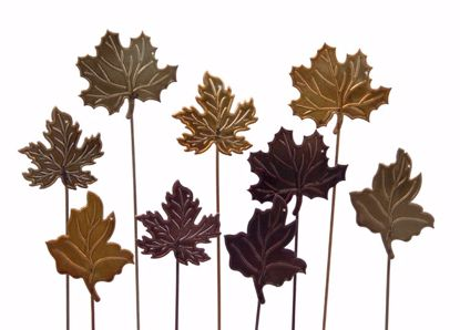 """Picture of 15"""" Metal Leaf Picks (3 Assorted)"""
