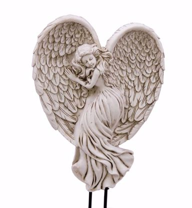 Picture of Polyresin Angel Planter Pick