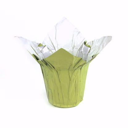 "Picture of 6"" Kwik-Cover® Citron/White"