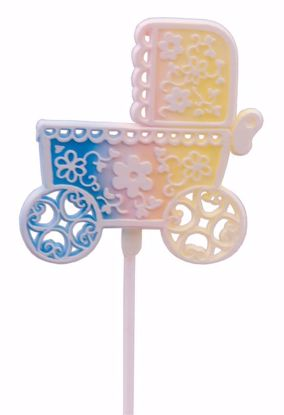 """Picture of 12"""" Baby Carriage Pick"""