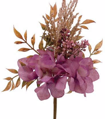 "Picture of 12"" Purple Hydrangea Berry Pick"